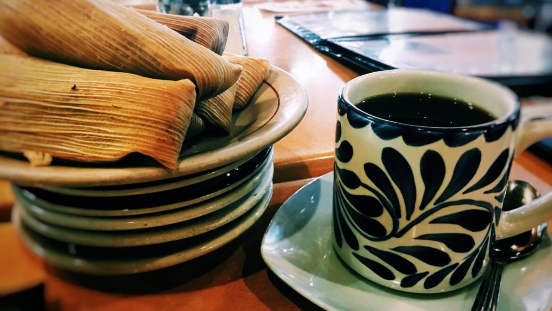 Cacao y maíz: Tamales de chocolate