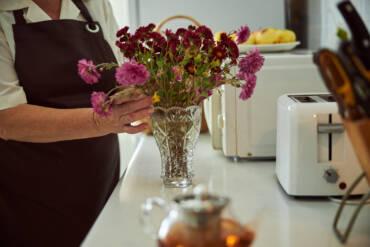 ¡Mermeladas hechas con flores!
